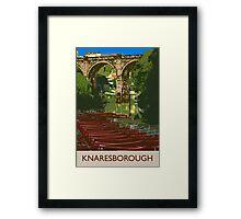 Knaresborough, river Framed Print