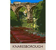 Knaresborough, river Photographic Print