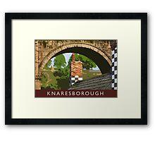 Knaresborough detail Framed Print