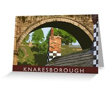 Knaresborough detail Greeting Card