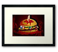 gore-burger    Framed Print