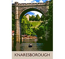 Knaresborough, boating Photographic Print
