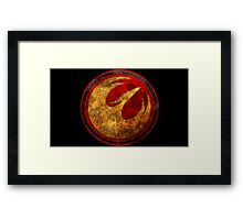 Rebel Alliance - Lothal Rebels Starbird Framed Print