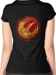 Rebel Alliance - Lothal Rebels Starbird Women's Fitted Scoop T-Shirt