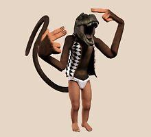 T Rex Monkey Baby Unisex T-Shirt