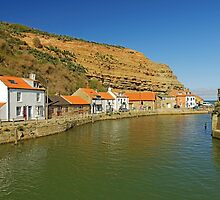 North Side and Staithes Beck by Rod Johnson
