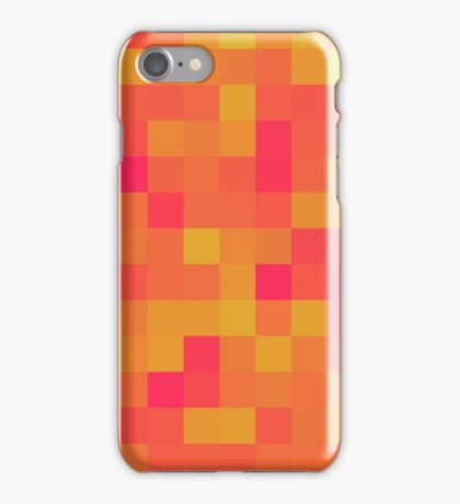 Burning Blocks iPhone Case/Skin