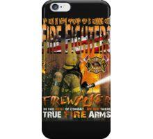 american fire firghter iPhone Case/Skin