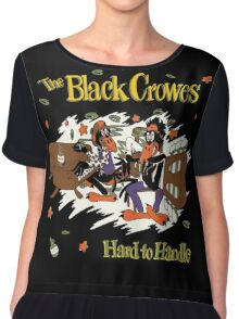 The Black Crowes Classic Chiffon Top