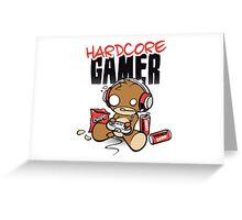 Hardcore Gamer Greeting Card