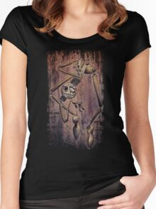 Crazy Cool Puppet Women's Fitted Scoop T-Shirt