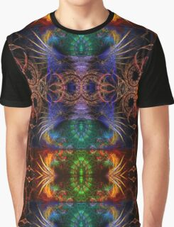Fractal Artistry Graphic T-Shirt