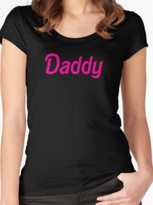 Daddy Women's Fitted Scoop T-Shirt