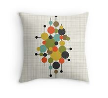 Eames Era Circles Throw Pillow