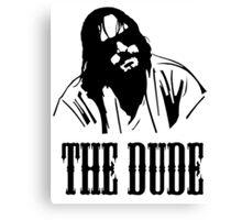 The Dude Abides The Big Lebowski Canvas Print