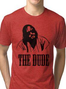 The Dude Abides The Big Lebowski Tri-blend T-Shirt