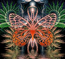 Fractal Lady Butterfly by webgrrl
