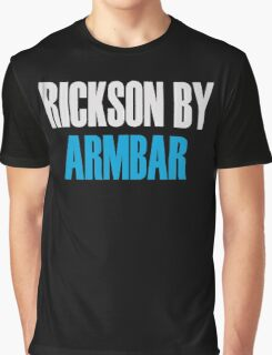 Rickson By Armbar (Brazilian Jiu Jitsu) Graphic T-Shirt