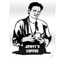 Jimmy's Coffee Pulp Fiction Poster