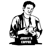 Jimmy's Coffee Pulp Fiction Photographic Print