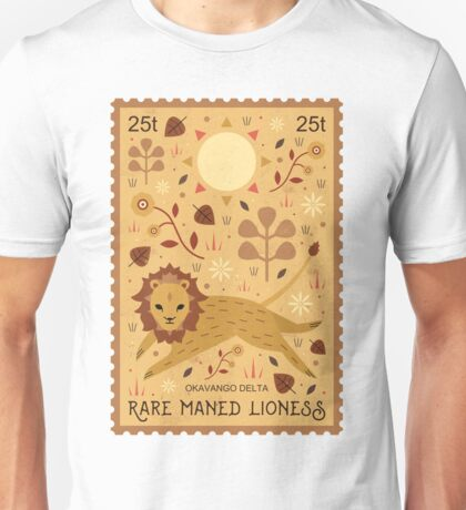 Maned Lioness  T-Shirt