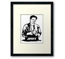 Quentin Tarantino Jimmy's Coffee Pulp Fiction Framed Print