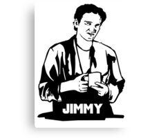 Quentin Tarantino Jimmy's Coffee Pulp Fiction Canvas Print