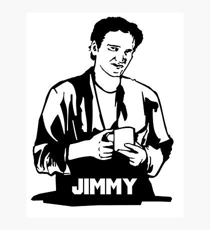 Quentin Tarantino Jimmy's Coffee Pulp Fiction Photographic Print