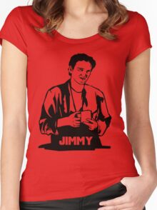 Quentin Tarantino Jimmy's Coffee Pulp Fiction Women's Fitted Scoop T-Shirt