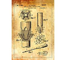 TIR-Screwdriver - Ancient Canvas Photographic Print