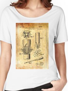 Patent Image - Screwdriver - Ancient Canvas Women's Relaxed Fit T-Shirt