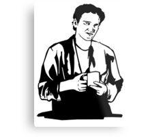 Quentin Tarantino Jimmy's Coffee Pulp Fiction Metal Print