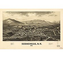 Keeseville New York (1887) Photographic Print