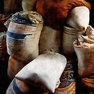 Sacks of Feed by Susan Savad