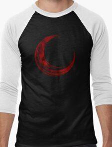 Crescent Moon - Blood Edition Men's Baseball ¾ T-Shirt