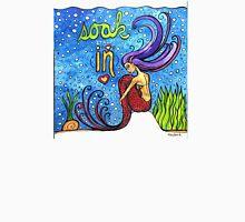 Soak It All In: Magical Mermaid Original Watercolor Illustration Women's Tank Top