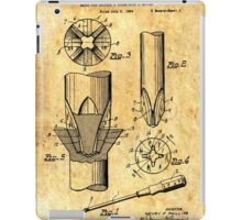 Patent Image - Screwdriver - Ancient Canvas iPad Case/Skin