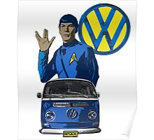Spock ride VW Poster