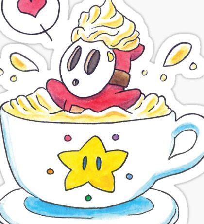 Whipped Cream Shyguy Latte Sticker