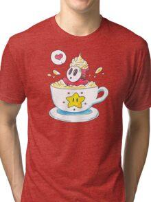 Whipped Cream Shyguy Latte Tri-blend T-Shirt