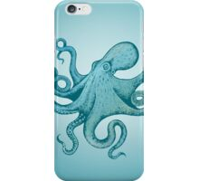 Mr. Octopus feels blue iPhone Case/Skin