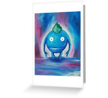All life begins with Nu and ends with Nu Greeting Card