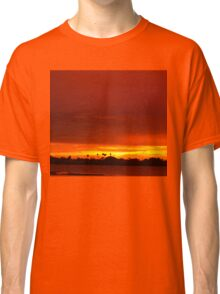 Crimson and amber world Classic T-Shirt