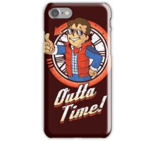 Vault Outta Time iPhone Case/Skin
