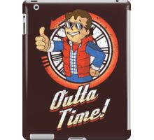 Vault Outta Time iPad Case/Skin