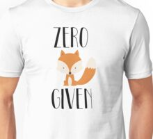 "Zero ""Fox"" Given Unisex T-Shirt"