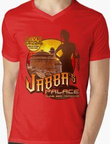 Jabba's Palace: Live Dancers...for Now. Mens V-Neck T-Shirt