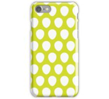 Balloon Pattern Moss iPhone Case/Skin
