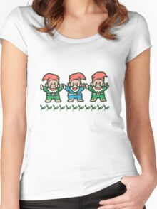 Little Gnome Women's Fitted Scoop T-Shirt