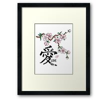 Chinese Love Che-Blossom   Framed Print
